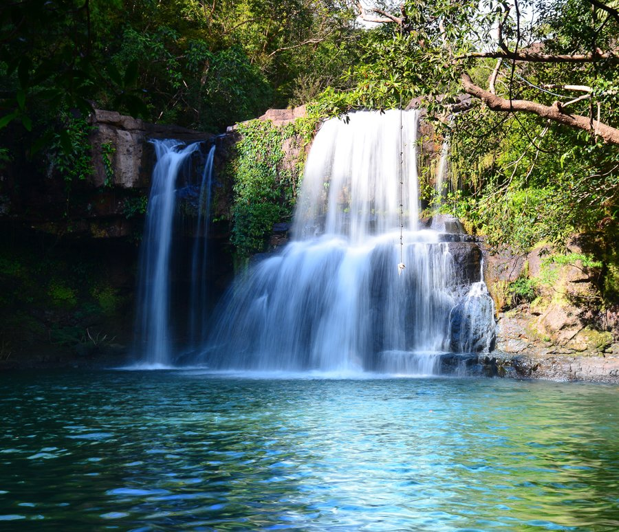 best waterfalls on koh kut island