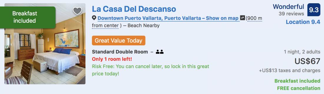 best puerto vallarta hotels in the romantic zone