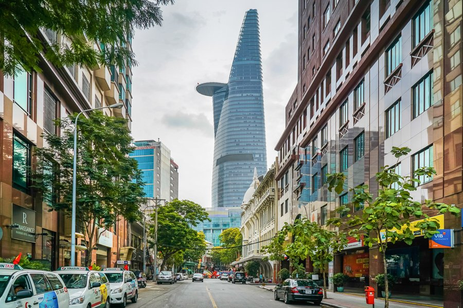 bitexco tower in ho chi minh is a popular attraction