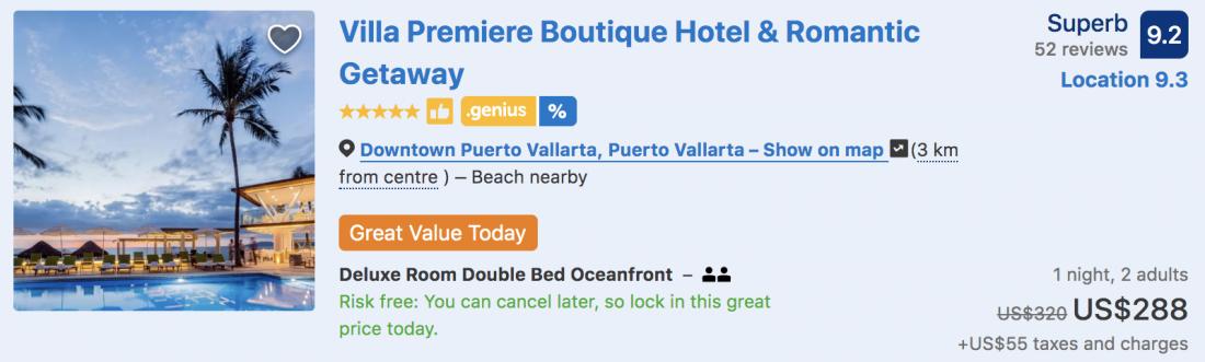 boutique puerto vallarta hotels