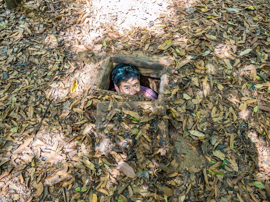 cu chi tunnels are one of the most popular things to do in vietnam