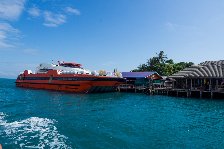 how to travel to koh kood by boat