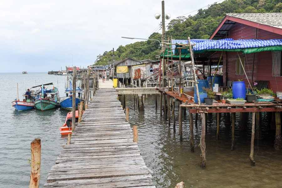 the fishing village on koh kood island thailand