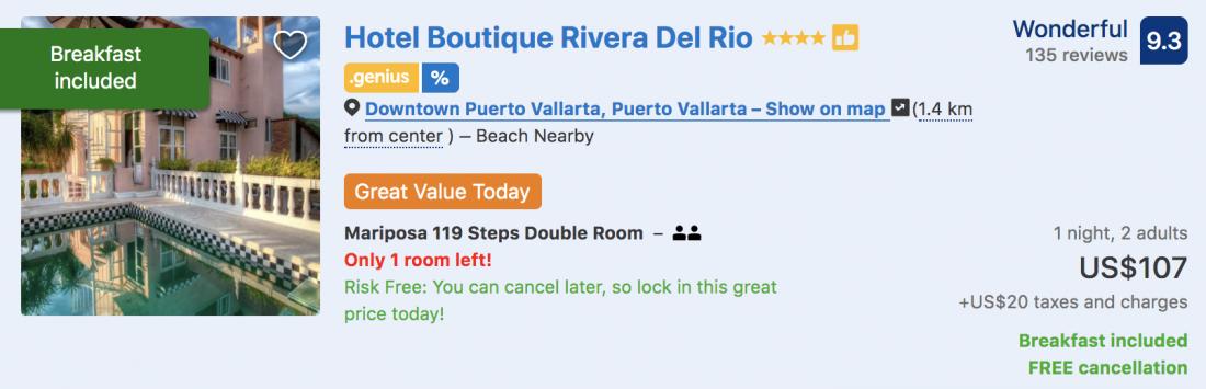 hotel boutique riviera puerto vallarta