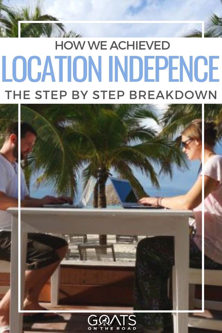travel blogging with text overlay how we achieved location independence