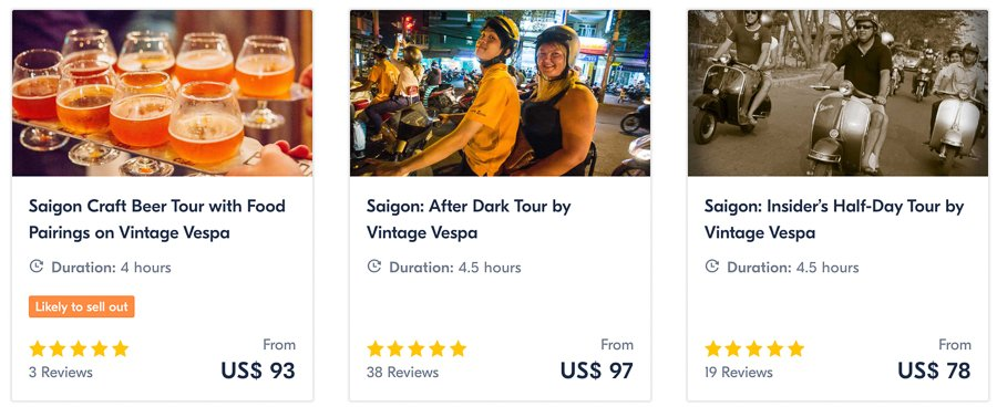 joining a motorbike tour in ho chi minh