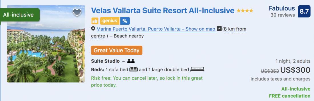 puerto vallarta hotels on the beach