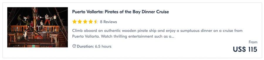 puerto vallarta tours pirate cruise