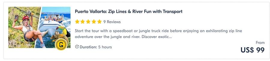 puerto vallarta tours ziplining