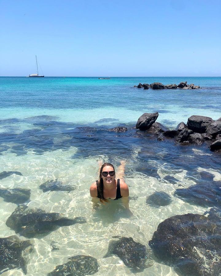 swimming in santa cruz galapagos - Galapagos Islands Travel: A Guide To Visiting Independently