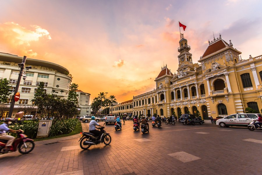 things to do in ho chi minh go on a walking tour