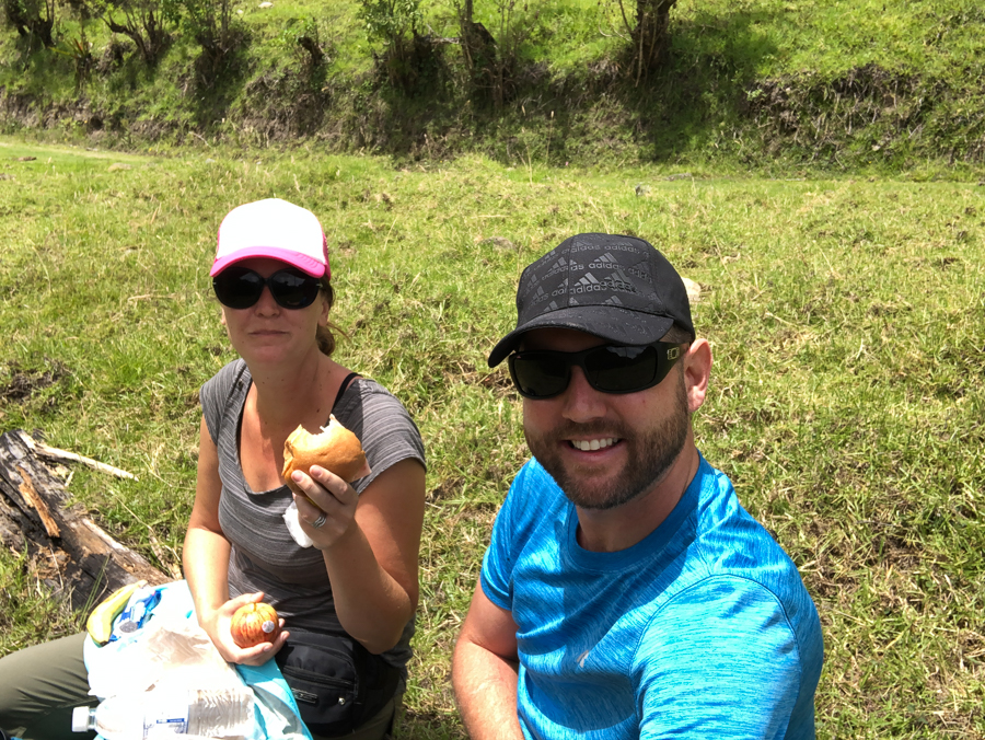 packed lunch for the quilotoa loop trek
