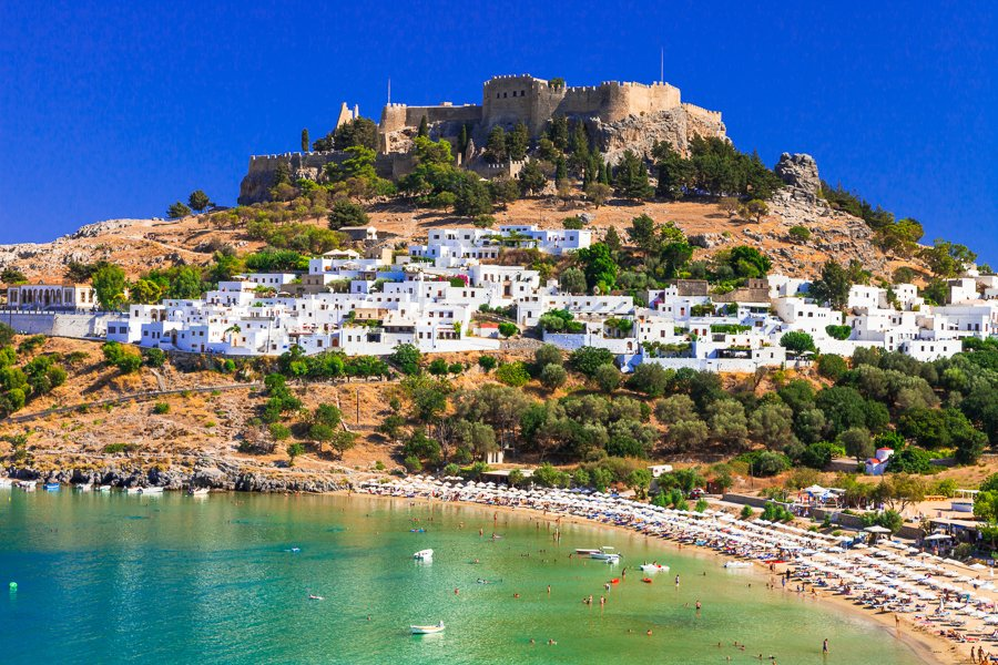 travel to rhodes greece for history and beaches