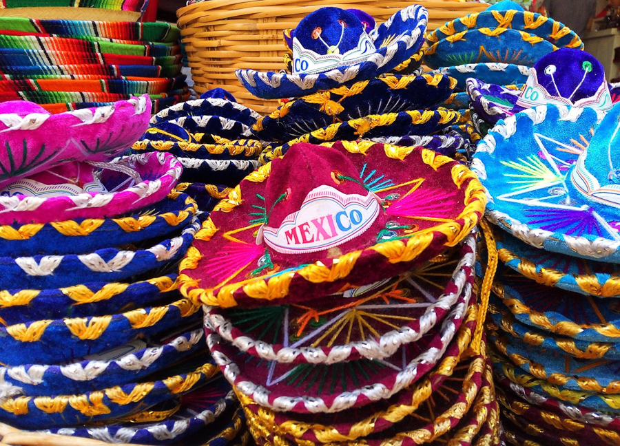 shopping for souvenirs in playa del carmen