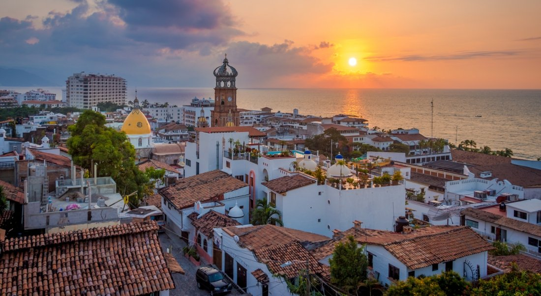 lady of guadalupe church in puerto vallarta mexico