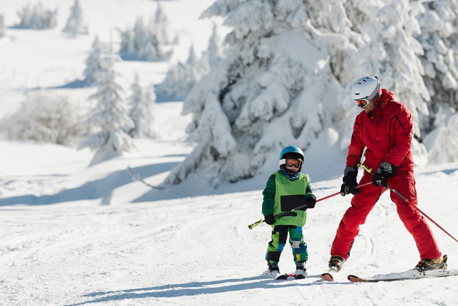 how to work as a ski instructor on a working holiday