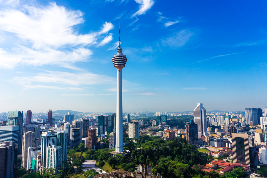 visiting the KL tower is a top thing to do in KL