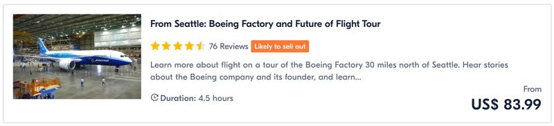 Boeing Seattle usine