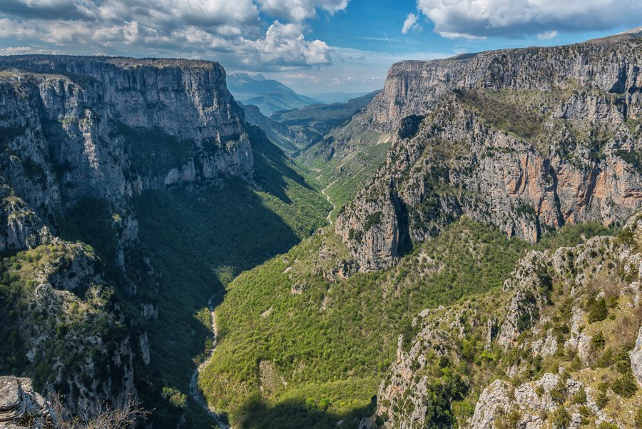 beloi viewpoint vikos gorge