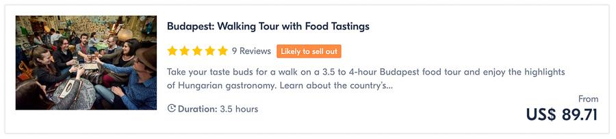 budapest food tour