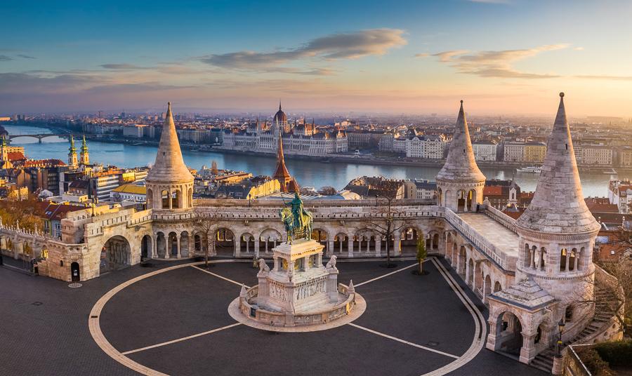 Bastion des pêcheurs de Budapest