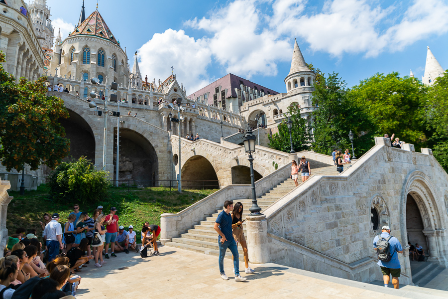 joining a free walking tour is one of the best things to do in budapest