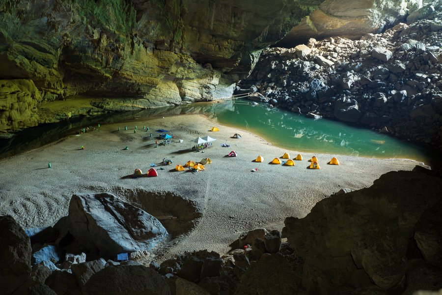 visiting caves in vietnam hang son doong