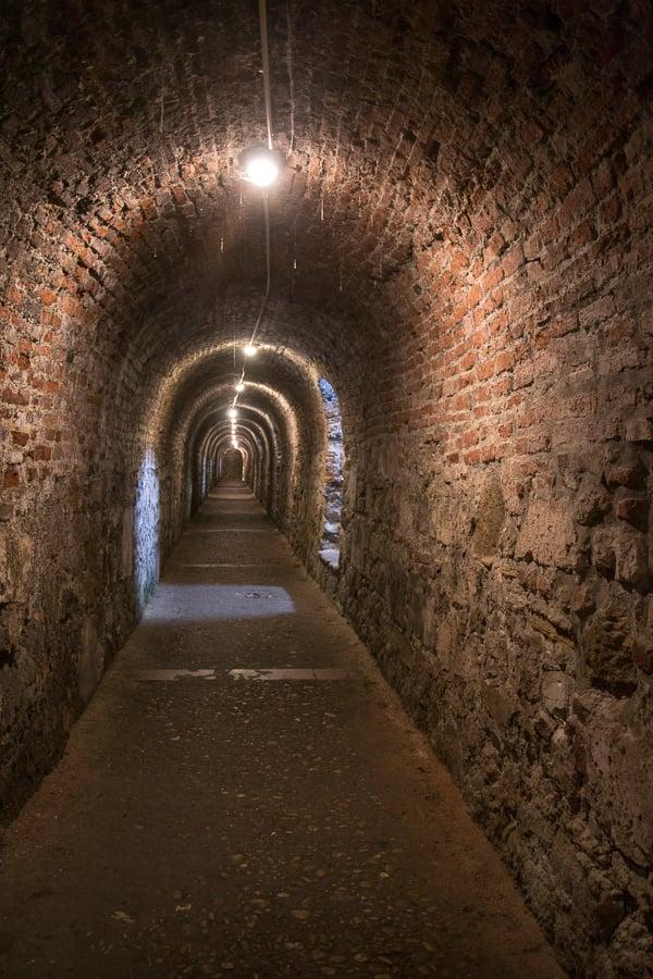 labyrinthe à budapest sous le château
