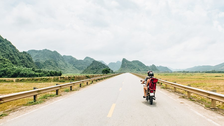 riding a motorbike across vietnam is one of the best things to do