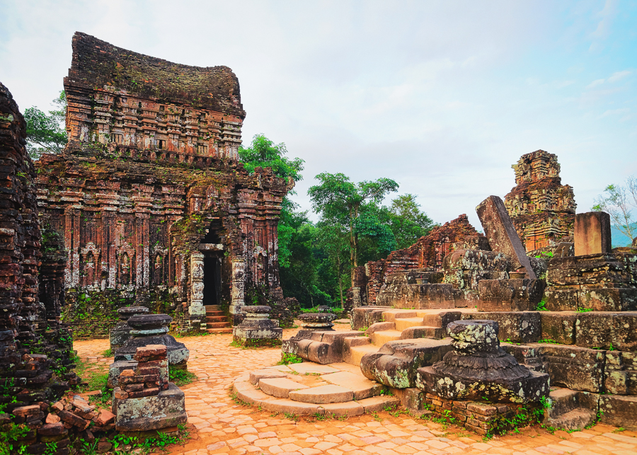 what to do in vietnam visit the my son ruins