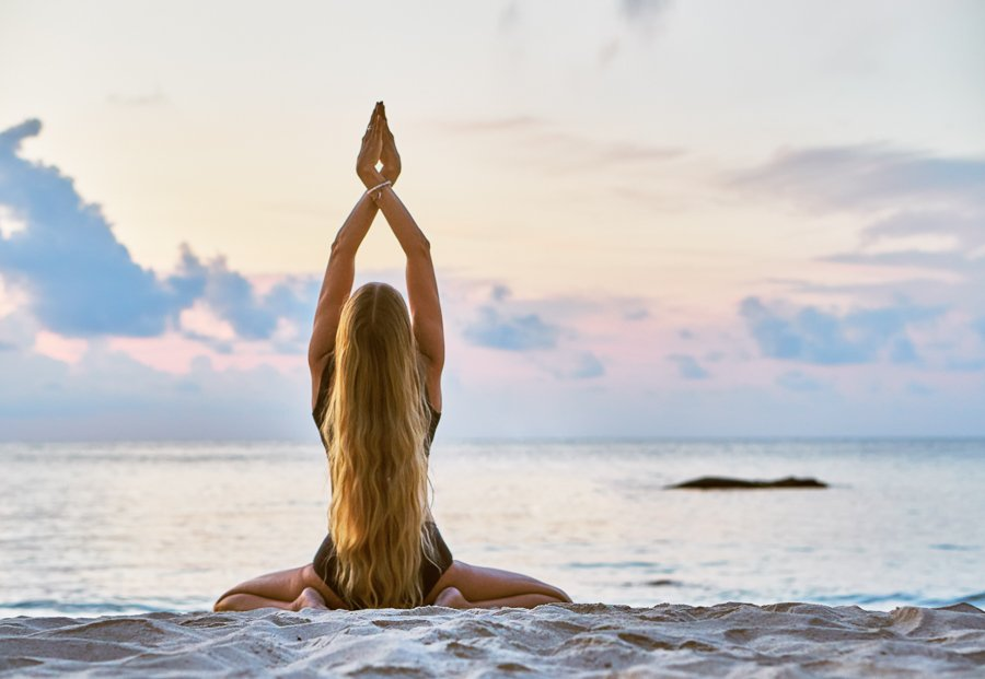 practicing yoga is one of the best things to do in koh samui
