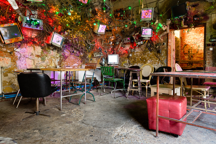 cool things to do in budapest visit a ruin bar