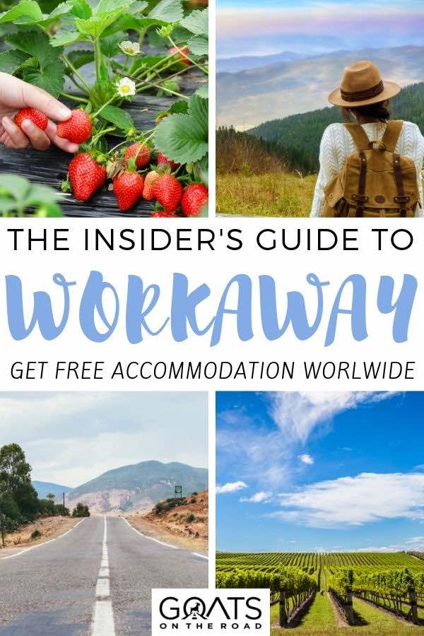 volunteering with text overlay the insiders guide to workaway