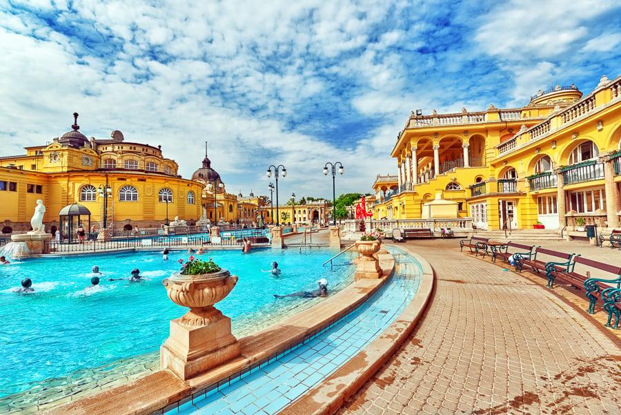 Budapest sources chaudes