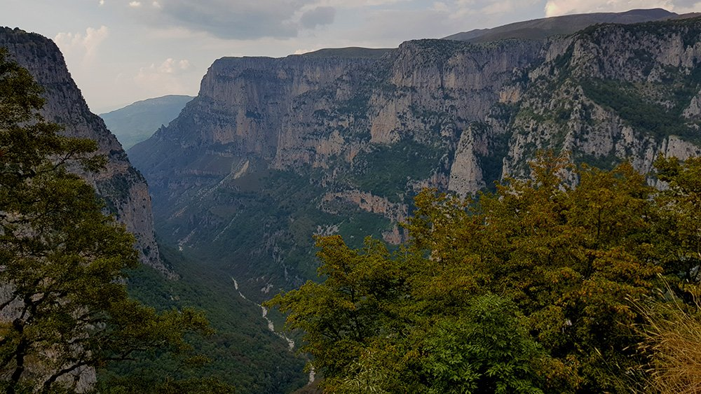 vikos gorge oxya viewpoint