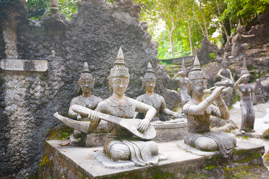 visit the secret buddha garden best things to do in koh samui