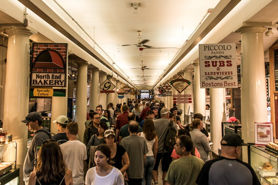things to do in boston visit Faneuil hall
