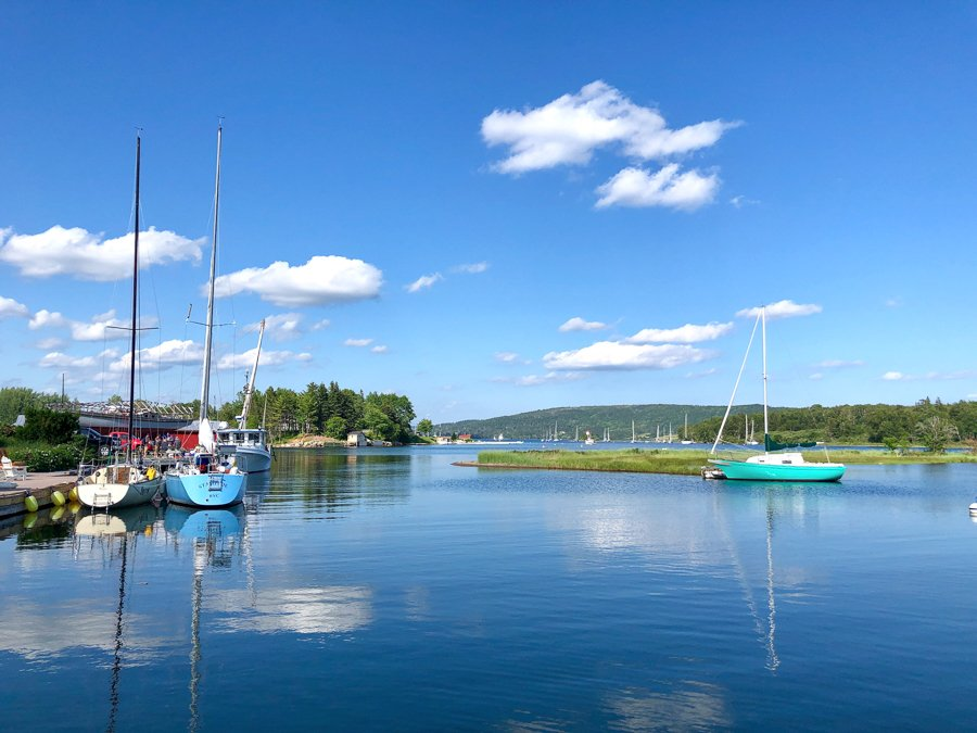 baddeck is a top place to visit in nova scotia