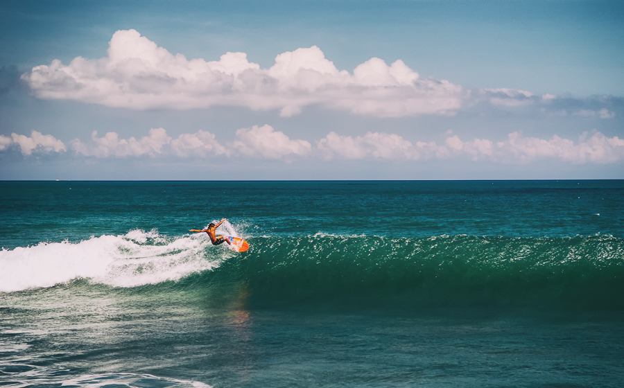 best places to visit in bali canggu for surfing