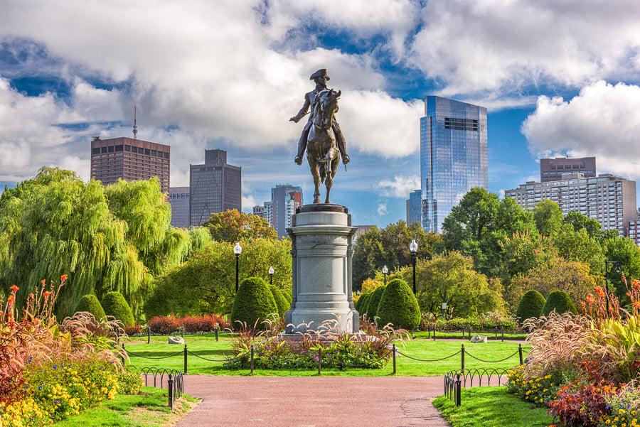 boston public gardens what to do in boston