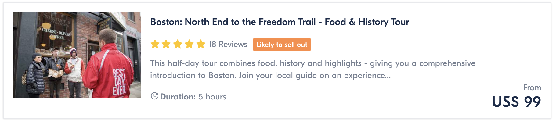food tour things to do in boston