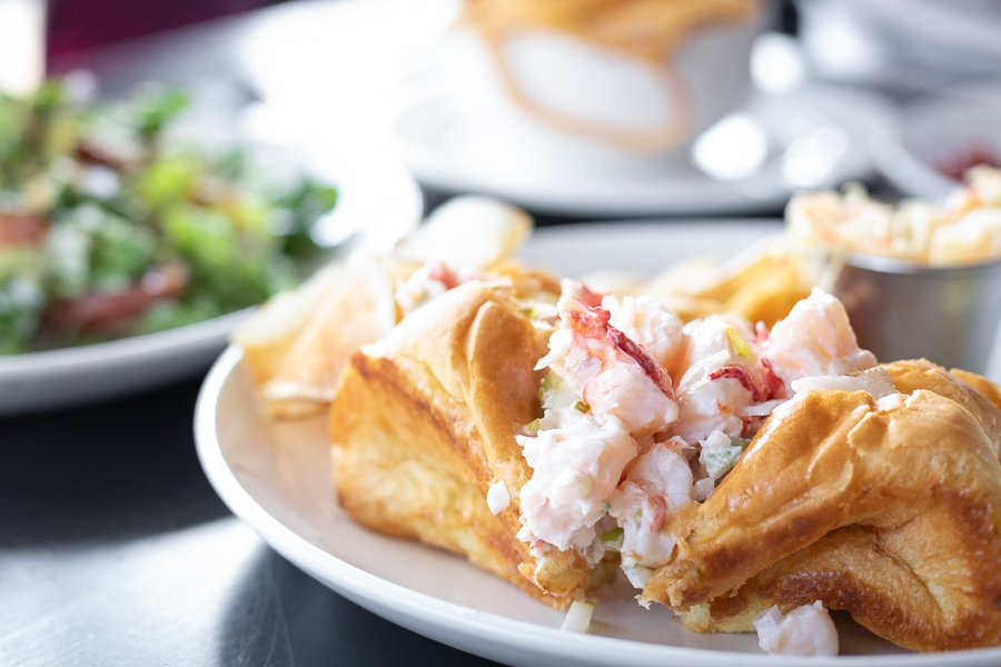 eating lobster rolls is one of the best things to do in boston