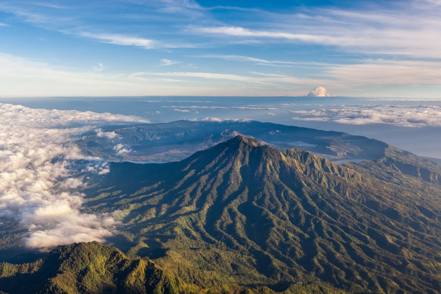 mt. batur volcano is one of the best bali tours