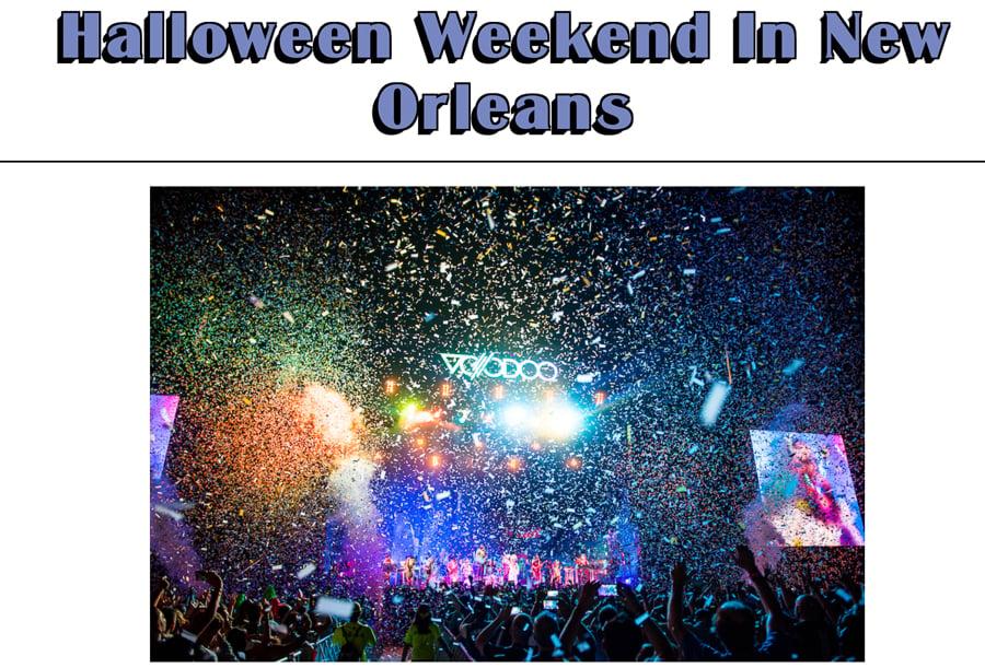 new orleans festivals voodoo