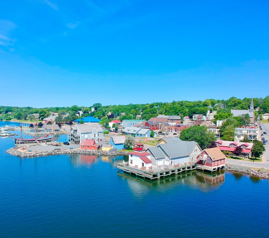 colourful town of pictou nova scotia