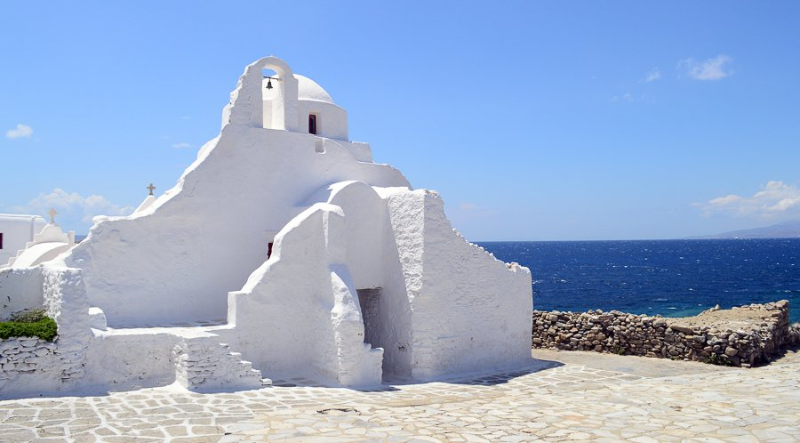 what to do in mykonos visit Panagia Paraportiani