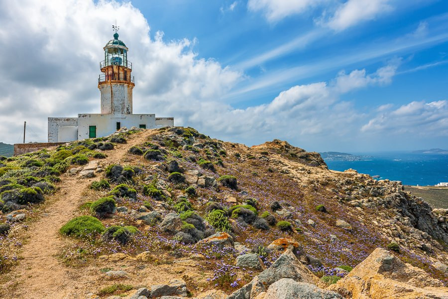 things to do in mykonos visit the armenistis lighthouse