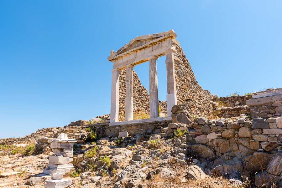 day trip to delos from mykonos