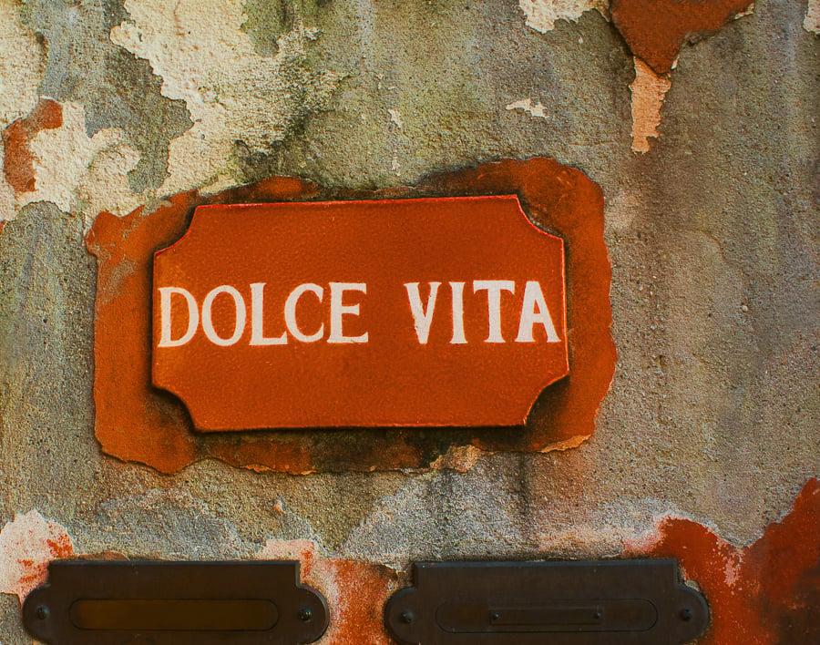 dolce vita italy