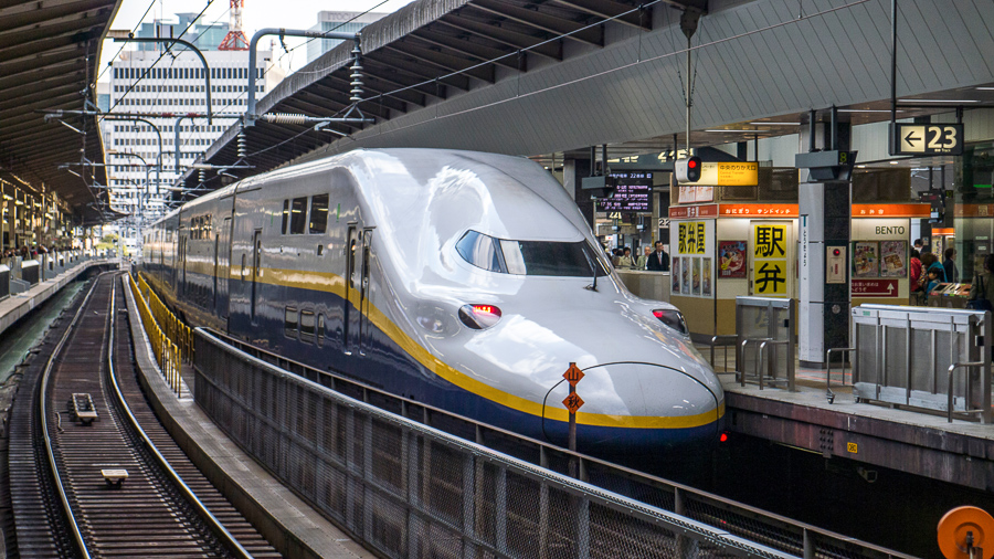 what to do in japan travel by train